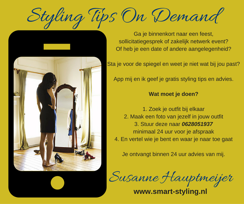 Styling Tips On Demand